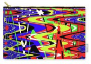 Bright Color Mix Abstract Carry-all Pouch