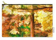 Bright Colored Leaves On The Branches In The Autumn Forest Carry-all Pouch