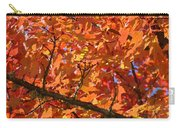 Bright Colorful Autumn Tree Leaves Art Prints Baslee Troutman Carry-all Pouch