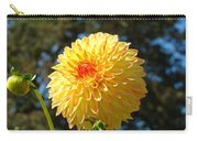 Bright Colorful Dahlia Flower Art Prints Baslee Troutman Carry-all Pouch