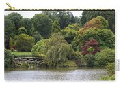 Bright Colors Of Autumn Trees On A Lake , Autumn Landscape. Carry-all Pouch