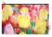 Bright Dreams In The Tulips Carry-all Pouch