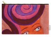 Bright Eyed Beauty Carry-all Pouch