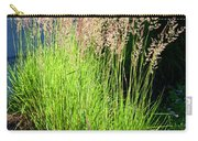 Bright Green Grass By The Pond Carry-all Pouch