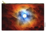 Bright Moon And Dark Clouds Carry-all Pouch