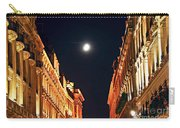 Bright Moon In Paris Carry-all Pouch by Elena Elisseeva