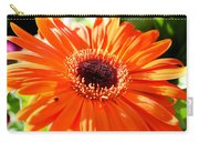 Bright Orange Gerbera  Carry-all Pouch