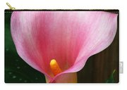 Bright Pink Calla Carry-all Pouch
