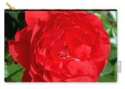 Bright Red Rose At Pilgrim Place In Claremont-california  Carry-all Pouch