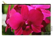Bright Scarlet Red Orchid Carry-all Pouch