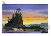 Bright Seacoast Sunset Carry-all Pouch