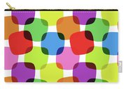 Bright Squares Carry-all Pouch