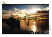 Bright Time On The River Carry-all Pouch by Scott Pellegrin