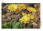 Bright Yellow Flowers  Carry-all Pouch