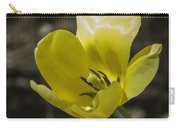 Bright Yellow Tulip Squared Carry-all Pouch