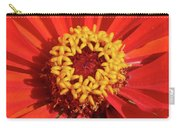 Bright Zinnia Carry-all Pouch