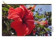 Brightly Colored Hibiscus On The Greek Island Of Mykonos  Carry-all Pouch
