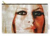 Brigitte Bardot By Mary Bassett Carry-all Pouch