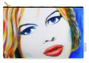 Brigitte Bardot Pop Art Portrait Carry-all Pouch