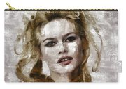 Brigitte Bardot, Vintage Actress Carry-all Pouch