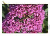 Brilliant Hot Pink Flowering Phlox Flowers In A Garden Carry-all Pouch