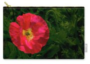 Brilliant Icelandic Poppy Carry-all Pouch