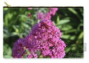 Brilliant Pink Blooming Phlox Flowers In A Garden Carry-all Pouch