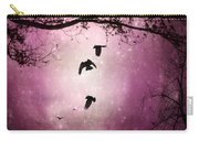 Brilliant Pink Surreal Sky Carry-all Pouch