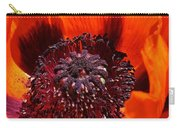 Brilliant Poppy Carry-all Pouch