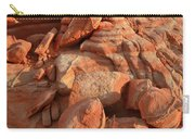 Brilliantly Colored Sandstone At Sunrise In Valley Of Fire Carry-all Pouch