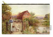 Bringing Home The Sheep Carry-all Pouch by Ernest Walbourn