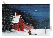 Liberty - Bringing Home The Tree Carry-all Pouch