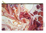 Bringing Into Life Fragment 2. Fluid Acrylic Painting Carry-all Pouch