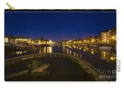 Bristol Docks By Night  Carry-all Pouch