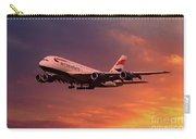 British Airways A380 G-xlef Carry-all Pouch