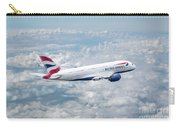 British Airways Airbus A380-841 Carry-all Pouch