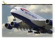 British Airways Airbus A380 Carry-all Pouch