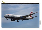 British Airways Boeing 767 Carry-all Pouch