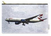 British Airways Boeing 777 Art Carry-all Pouch