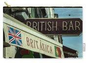 British Bar Britanica  Carry-all Pouch