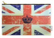 British Flag And Royal Crown Carry-all Pouch