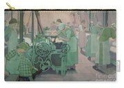 British Industries - Cotton Carry-all Pouch by Frederick Cayley Robinson