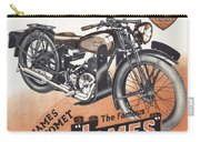 British James Comet Motorcycle  1948 Carry-all Pouch