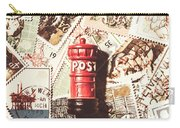 British Post Box Carry-all Pouch