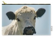 British White Cow Carry-all Pouch