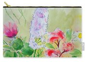 British Wild Flowers Carry-all Pouch