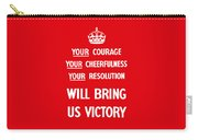British Ww2 Propaganda Carry-all Pouch by War Is Hell Store