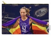 Brittney Griner Lgbt Pride 3 Carry-all Pouch