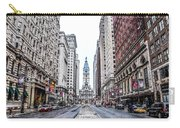 Broad Street Facing City Hall In Philadelphia Carry-all Pouch