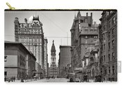 Broad Street Philadelphia 1905 Carry-all Pouch